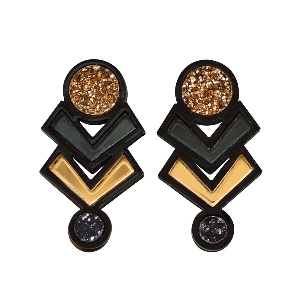 485c6a0b0 more_vertAmulet Stud Earrings